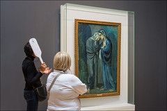 Hermitage Museum, Picasso ... (miriam ulivi - OFF/ON) Tags: miriamulivi nikond7200 russia sanpietroburgo museo hermitagemuseum picasso quadro painting leduesorelle interno internal