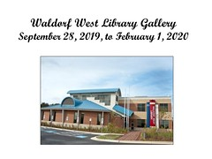 "Waldorf West Library Gallery - September 28, 2019, to February 1, 2020 • <a style=""font-size:0.8em;"" href=""http://www.flickr.com/photos/124378531@N04/48827683007/"" target=""_blank"">View on Flickr</a>"