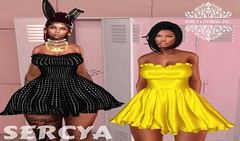 RML SERCYA DRESS OFFICIAL AD (RML CLOTHING/SHAPES INC.) Tags: rmlmainstore newrelease second life secondlife clothing clothes rml hud belleza hudded freya isis venus maitreya slink hourglass physique dress new mainstore ad official