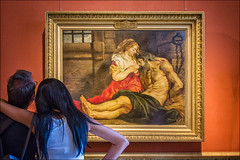 Hermitage Museum, Rubens ... (miriam ulivi - OFF/ON) Tags: miriamulivi nikond7200 russia sanpietroburgo museo hermitagemuseum pieterpaulrubens caritàromana quadro people interno painting internal
