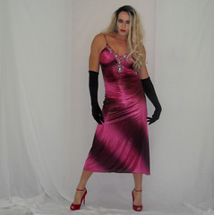 Love this dress (queen.catch) Tags: dragqueen crossdresser dress wig makeup sissy pantyhose heels ankle strap gloves ladyboy feminization femboi sugarandspice