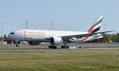 Emirates A6-EFK, OSL ENGM Gardermoen (Inger Bjørndal Foss) Tags: a6efk emirates boeing 777 cargo osl engm gardermoen