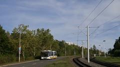 Schienenersatzverkehr zur Geraer Heinrichstraße (Taube95) Tags: schienen nahverkehr öpnv manlion'scity fotografie gelenkbus man schienenersatzverkehr lumix thüringen gera bus