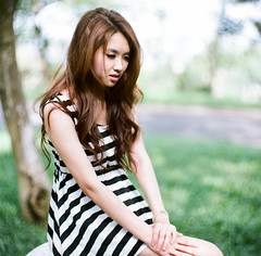 70670019 (J-Works) Tags: hasselblad 203fe apochromat kinoptik paris 1002 6x6 film beauty girl asia women sexy mylove ting 廖庭瑩 medium format