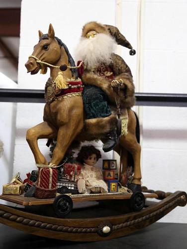 Santa on horse decoration ($145.60)