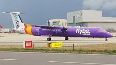 G-JEDV   FlyBe   Dehaviland Canada Dash 8 Q 400 (Geoff Bye) Tags: flybe bee be dash8q400 dash8 dehavillandcanada gjedv londonheathrowairportlhr egll dhc