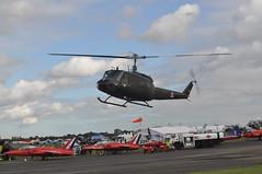 UH-1 Iroquois G-HUEY MX Jets (Richard.Crockett 64) Tags: bell uh1 iroquois ghuey helicopter chopper usarmy unitedstatesarmy mxjets jetfest19 northweald airfield essex 2029
