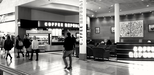 Coffee Republic, Bluewater