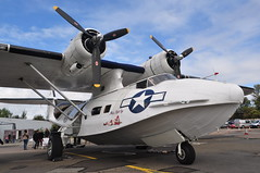 PBY-5A Catalina G-PBYA Plane Sailing (Richard.Crockett 64) Tags: consolidated pby5a catalina gpbya flyingboat usn unitedstatesnavy ww2 worldwartwo planesailing jetfest19 northweald airfield essex 2019