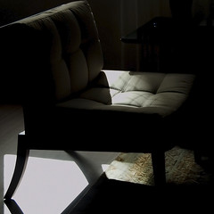 Even shadows have a lot to say... (@petra) Tags: home room chair light shadows carpet indoor nikon revisited