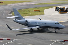 C-FABH Dassault Falcon 2000LX (R.K.C. Photography) Tags: cfabh dassault falcon2000lx aircraft aviation bizjet canadian 244 andersonairltd luton bedfordshire england unitedkingdom uk canoneos750d