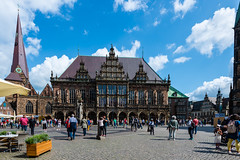 Bremen City Hall (George Plakides) Tags: red bremen cityhall germany unescoworldheritagesite gothic architecture brick