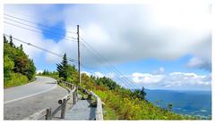 Up the Mountain (Timothy Valentine) Tags: lines camera2 pole mountgreylock road sky switchback 0919 2019 telegraphtuesday adams massachusetts unitedstatesofamerica
