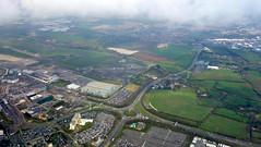 dublin airport (JimmyPierce) Tags: dublin dublinairport fromtheplane