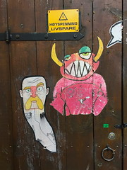 Nute October 2019 (svennevenn) Tags: nute pasteups