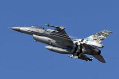 Belgium - Air Force General Dynamics F-16AM Fighting Falcon FB-124 75 Years D-Day (EK056) Tags: belgium air force general dynamics f16am fighting falcon fb124 75 years dday kleine brogel base ebbl
