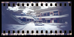 img252 (Rachel Semanski - RayRayProPhoto) Tags: film 35mm analog photography sprocket rocket sprockets panorama abandoned deadmall dead mall northridge