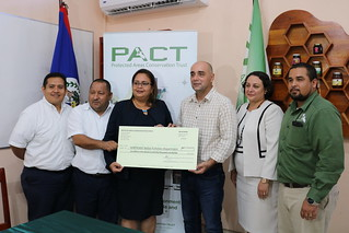 PACT Conservation Investment Award Signing