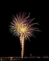 Palm Tree Fireworks (brucekester@sbcglobal.net) Tags: lasvegas 4thofjuly fireworks henderson nevada palmtree