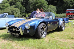 AC Cobra NKY626M (Andrew 2.8i) Tags: show automobile auto voiture cars car classics classic carmarthenshire arms bronwydd day transport railway gwili sports sportscar v8 open cabriolet convertible roadster track trackday replica kit kitcar 427 cobra ac nky626m