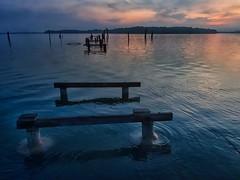 PA010008 ~ senandung pagi (achem74) Tags: sunrise morning pier seascape shoreline coast cloud sea sky waterfront lumut perak malaysia travel place trip olympus em5 happyplanet asiafavorites