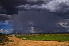 Revive (Steven Maguire Photography) Tags: arizona cochisecounty clouds sierravista southwest skyscape monsoon lightning landscape rain