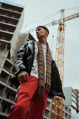 Building blocks (AlexanderHorn) Tags: portrait city urban street streetsstyle fashion mensfashion helsinki moody grungy male a7riii sigma