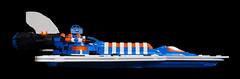 Deep Freeze Discoverer - Armada Shot (jtooker2) Tags: shiptember ship lego deepfreezediscoverer iceplanet spaceship 2002 2019 moc armada poster space