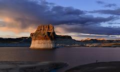 USA - Arizona - lac Powell - Lone Rock (AlCapitol) Tags: usa us etatsunis arizona page nikon d850 lacpowell lakepowell lonerock sunset coucherdesoleil