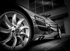 SLR (Dave GRR) Tags: mercedes benz mclaren slr supercar hypercar luxurycar sportscar auto show cars coffee toronto olympus monochrome mono chrome