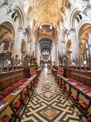 Christchurch Oxford (alanrharris53) Tags: oxford christchurch college hall interior architecture