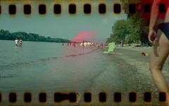 Danube beach (lumpy79) Tags: danube beach weltax junior meritar f35 75mm fuji superia 200 expired 2006 shot 2019 with 35mm adapter
