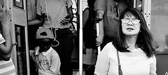 End of the line. (Baz 120) Tags: candid candidstreet candidportrait city contrast street streetphoto streetcandid streetportrait strangers rome roma ricohgrii europe women monochrome monotone mono noiretblanc bw blackandwhite urban life portrait people provoke italy italia girl grittystreetphotography faces decisivemoment