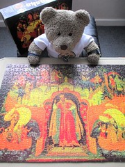 I wuz Rushin' to finnish this! (pefkosmad) Tags: jigsaw puzzle hobby leisure pastime complete used secondhand falcon 500pieces vintage skaska tsarsaltan tedricstudmuffin teddy ted bear animal toy cute cuddly plush fluffy soft stuffed art