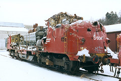 NSB Di 3 604 (Stig Baumeyer) Tags: diesellocomotive diesel diesellokomotive diesellok diesellokomotiv di3 nsb norgesstatsbaner nsbdi3 nohab nohabgm nydqvistholm gm generalmotors gm16567 trondheim trollhättan electromotive emd marienborg