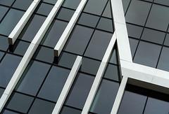 Wall lines (jefvandenhoute) Tags: belgium belgië brussels brussel light lines shapes geometric wall windows