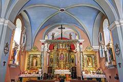 Chapelle Notre-Dame-de-la-Gorge (Haute-Savoie) (bernarddelefosse) Tags: notredamedelagorge chapelle baroquesavoyard lescontaminesmontjoie hautesavoie rhônealpes france église architecture hdr