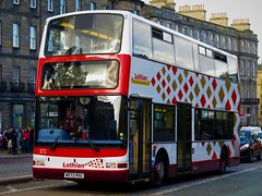 Lothian Buses 572 (W572RSG) - 28-09-19 (peter_b2008) Tags: lothianbuses edinburgh dennis trident plaxton president 572 w572rsg buses coaches transport buspictures