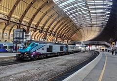 68027 02/10/2019 (Dan-Piercy) Tags: drs tpe class68 68027 1e25 york station liverpool limest scarborough transpeninne service ecml