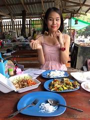 lunch portrait (ChalidaTour) Tags: thailand thai asia asian girl femme fils chica nina sweet cute beautiful pretty petite slender slim portrait lunch