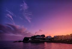 Spain (Vest der ute) Tags: xt2 spain sea sky clouds evening sunset fav25