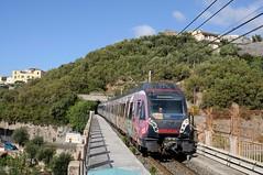 ERT-218—Seiano-Italy-24-9-2019 (D1021) Tags: ert218 emu metergauge sorrento sorrentostation italy italianrailway d300 nikond300