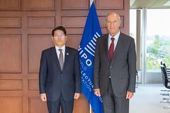 WIPO Director General Meets Republic of Korea's Vice Commissioner Sechang Cheon (WIPO | OMPI) Tags: assemblies republicofkorea ompi directorgeneral francisgurry bilateralmeeting wipo