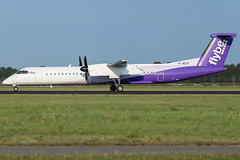 Flybe DHC-8-402Q G-JECP (wapo84) Tags: ams schiphol eham dhc8 flybe gjecp getjet