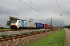LINEAS 186 497-4 Containerzug, Bruchsal (michaelgoll777) Tags: lineas br186 traxx railpool