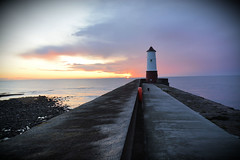 (plot19) Tags: berwick upon tweed lighthouse love light sunrise sunset england uk britain landscape plot19 photography nikon north northern harbour