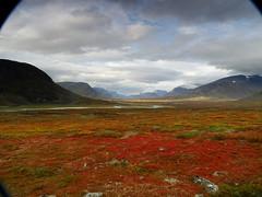 Autumn colors (dration) Tags: lapland kungsleden sweden landscape clouds sky