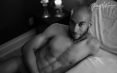 David IV (Jarrod McKenna) Tags: blackmale dudoir male model nude gay gayphotographer gayphotography
