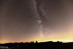 Home sweet night (paul.porral) Tags: flickr ngc landscape night nocturne milkyway voielactee vialactea longexposure poselongue sky ciel cielo astrophotography paysage nuit canon canon6dmkii nightsky space astro astrophoto astronomy semnoz france hautesavoie