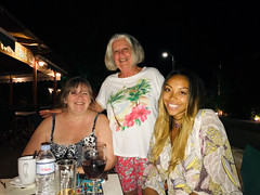Ritsa with Jayne and Jade (RobW_) Tags: jayne ritsa jade albertsen freddiesbar tsilivi zakynthos greece sunday 15sep2019 september 2019 diaryphoto mdpd2019 mdpd201909